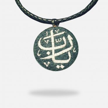 Olive Tree Pendant, silver gold plated and Onyx stones